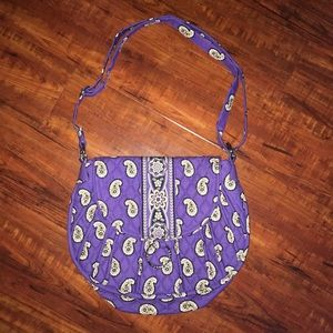 🆕 Vera Bradley paisley print shoulder purse